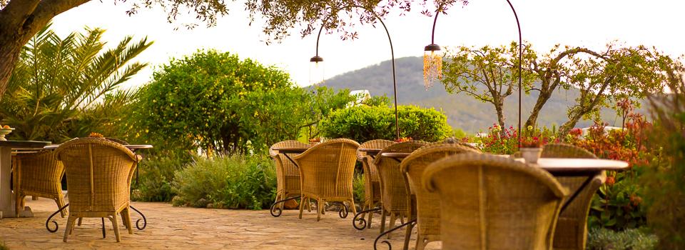 Ibiza Yoga Hotel Es Cucons - Terrasse