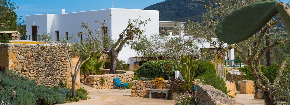 Ibiza Yoga Hotel Es Cucons Orange Room