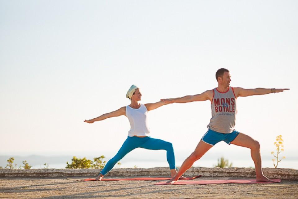 Yoga in der Sonne - Ibiza Yoga - Orange Room